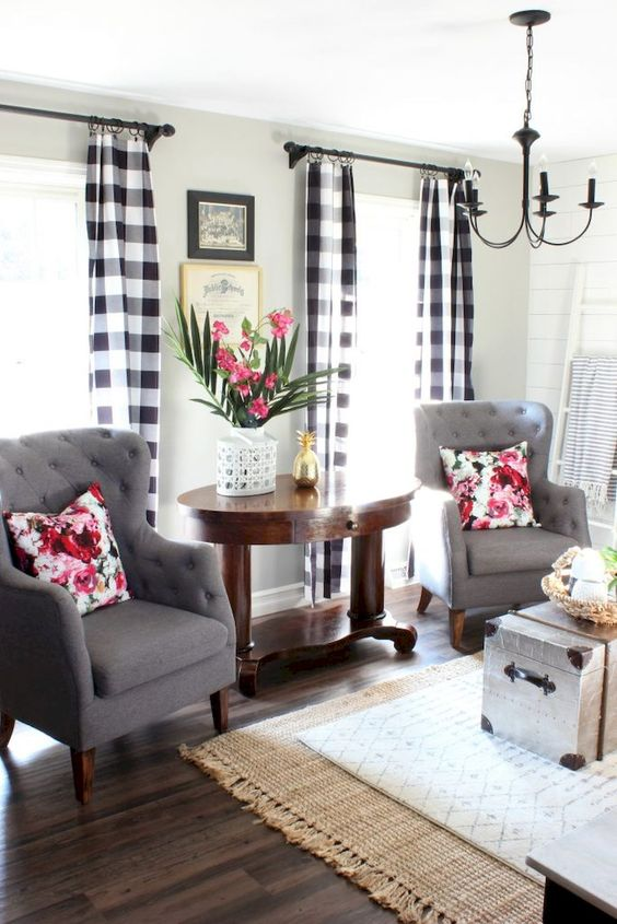 My Hunt For Modern Farmhouse Curtains Amy Angie