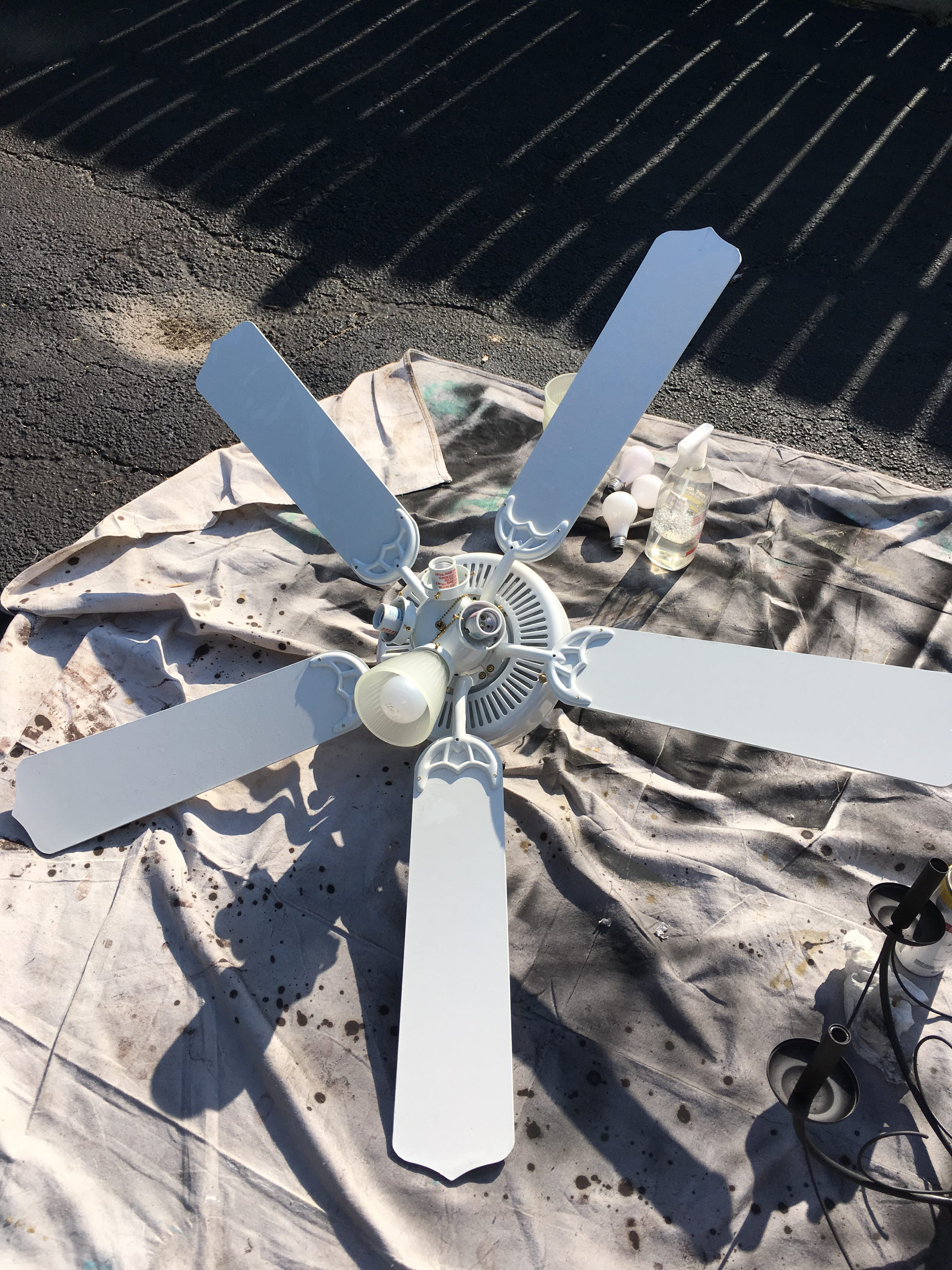 How To Make An Ceiling Fan For Less Than 30